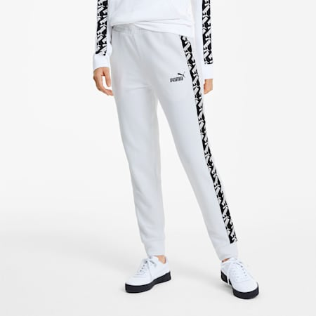 Amplified Women's Track Pants, Puma White, small