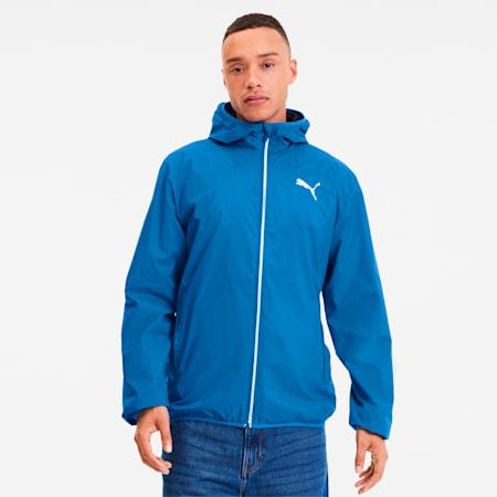 Essentials Men's Solid Windbreaker, Palace Blue, small