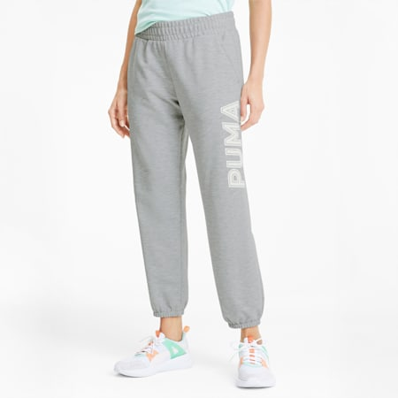 Modern Sports Women's Sweatpants, Light Gray Heather, small