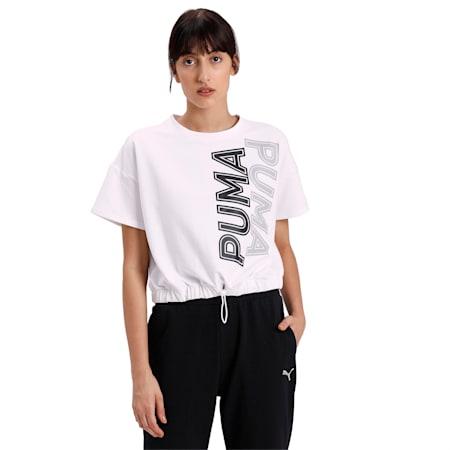 Modern Sports Sweat T-Shirt, Puma White, small-IND