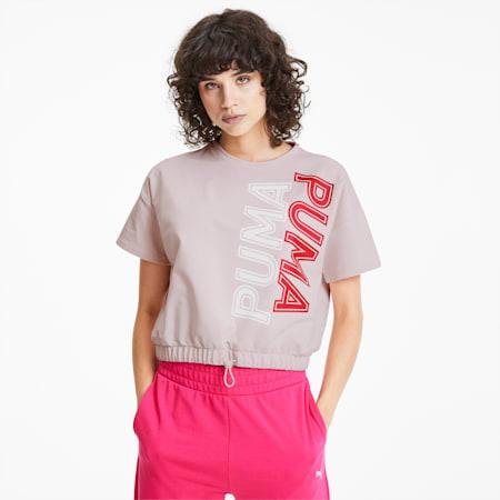 Modern Sports Sweat T-Shirt, Rosewater, small-IND