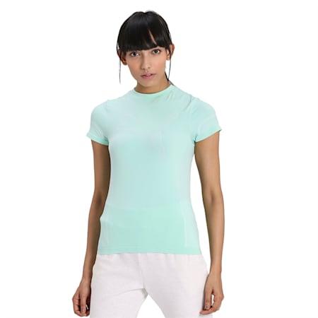 Evostripe evoKNIT Women's T-Shirt, Mist Green, small-IND