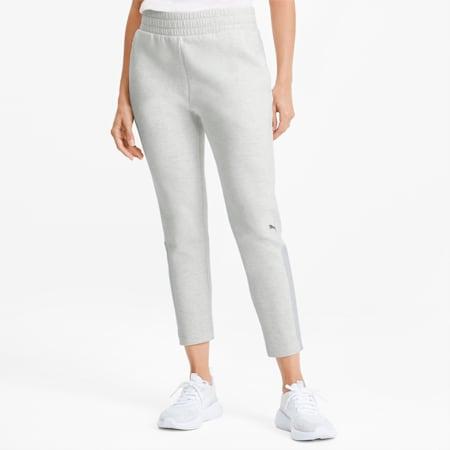 Evostripe Women's Sweatpants, Puma White Heather, small
