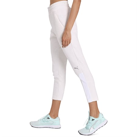 Evostripe Pants, Puma White Heather, small-IND