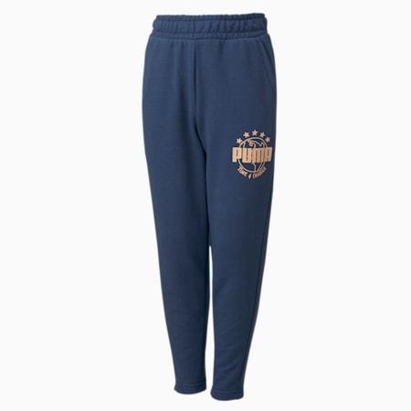 T4C Kids' Sweatpants, Dark Denim, small