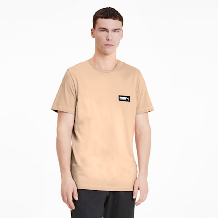 FUSION Men's Tee, Pink Sand, small