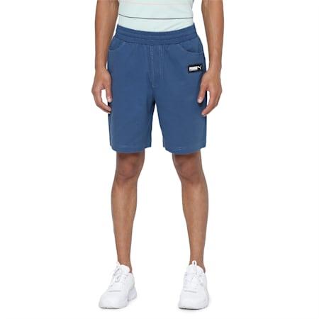 FUSION Shorts, Dark Denim, small-IND
