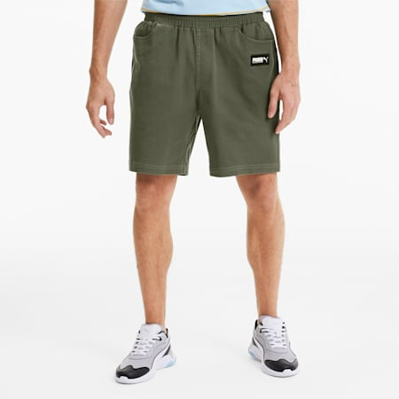 FUSION Men's Shorts, Burnt Olive, small-SEA