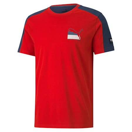 ATHLETICS Advanced T-Shirt, High Risk Red, small-IND