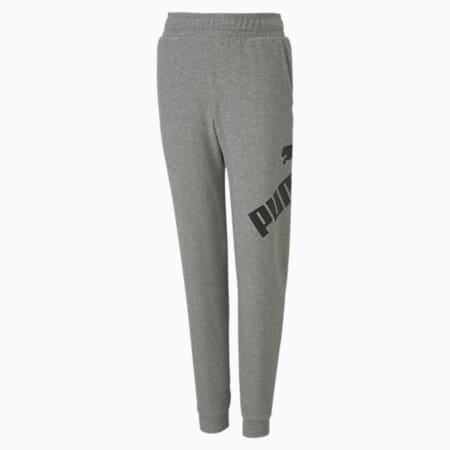 Pantalon de sweat Big Logo pour garçon, Medium Gray Heather, small