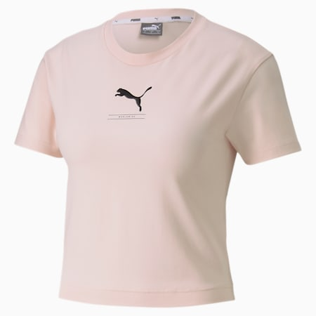 NU-TILITY Fitted Women's Tee, Rosewater, small-SEA