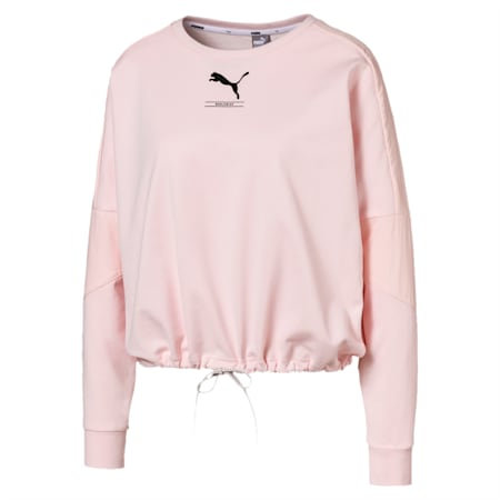 Nu-tility Crew Sweat, Rosewater, small-IND