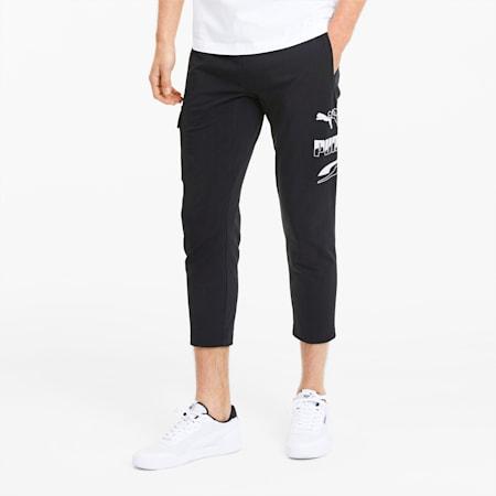 REBEL Men's Sweatpants, Puma Black, small-SEA