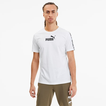 Amplified Men's Tee, Puma White, small