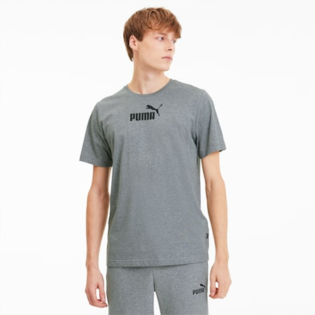 Amplified Men's Tee, Medium Gray Heather, small