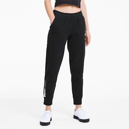 NU-TILITY Women's Sweatpants, Puma Black, small-SEA