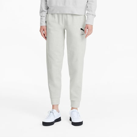 NU-TILITY Women's Sweatpants, Puma White Heather, small