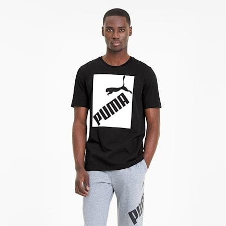 Big Logo Men's Tee, Puma Black, small