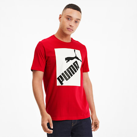 Big Logo Men's Tee, High Risk Red, small