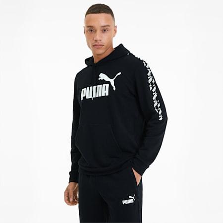 Amplified Training Men's Hoodie, Puma Black, small