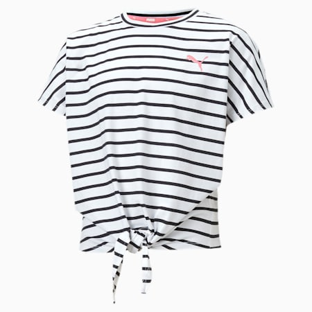 Camiseta Alpha para niña, Puma White, small