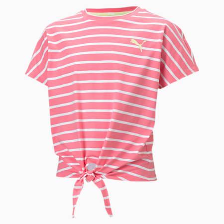 Alpha T-shirt voor meisjes, Bubblegum, small