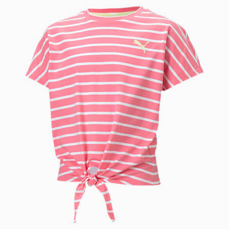 Alpha Girls' Tee, Bubblegum, small-SEA