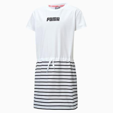 Alpha Girls' Dress, Puma White, small-SEA