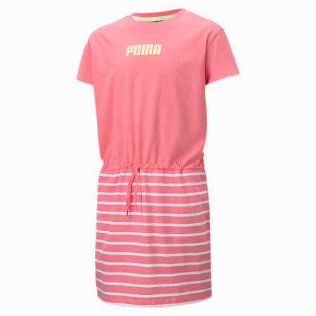 Alpha Girls' Dress, Bubblegum, small-SEA