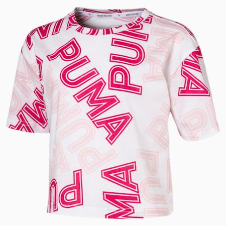 Modern Sports T-Shirt, Puma White-AOP, small-IND