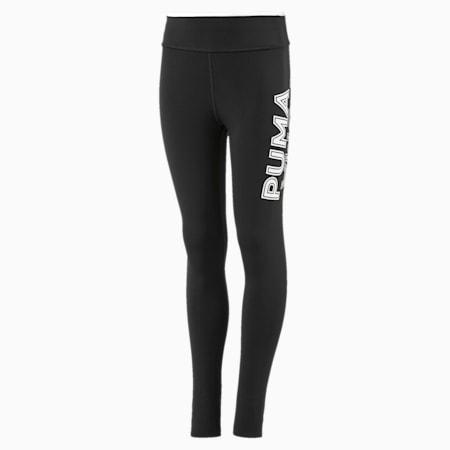 Collant Modern Sports pour fille, Puma Black-Puma White, small