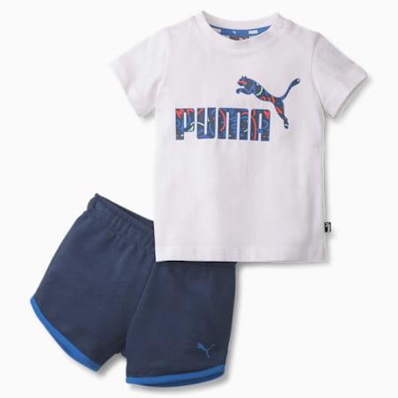 Minicats Alpha Babies' Sports Set, Puma White, small-SEA