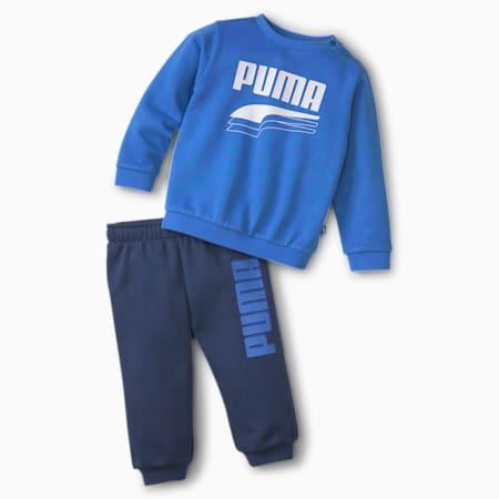 Minicats Rebel Babies' Sweat Suit, Palace Blue, small