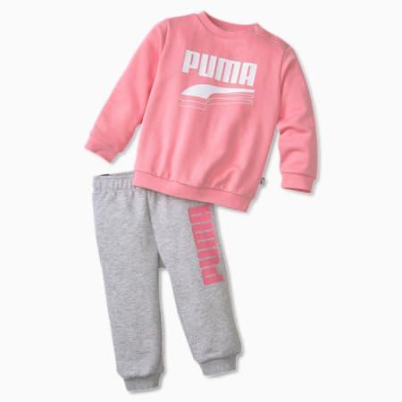 Minicats Rebel Babies' Sweat Suit, Peony, small-SEA