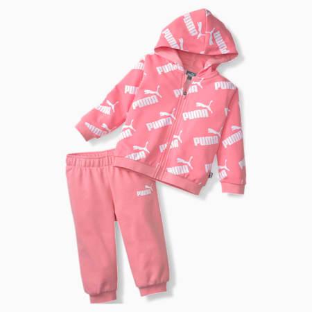 Minicats Amplified Babies' Sweat Suit, Peony, small-SEA