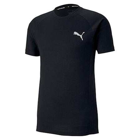 EVOSTRIPE Slim T-shirt, Puma Black, small-IND