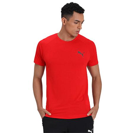 EVOSTRIPE T-Shirt, High Risk Red, small-IND
