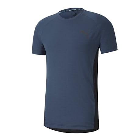 EVOSTRIPE Slim T-shirt, Dark Denim, small-IND