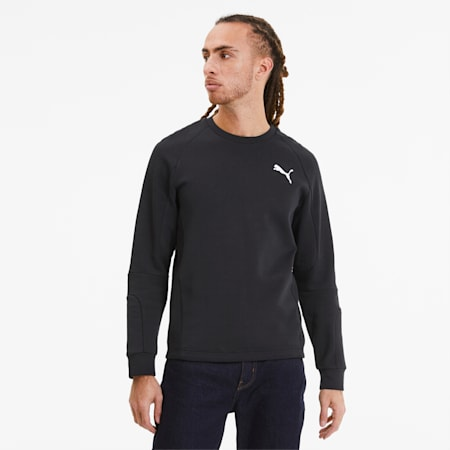 Evostripe Long Sleeve Men's Jersey, Puma Black, small-SEA