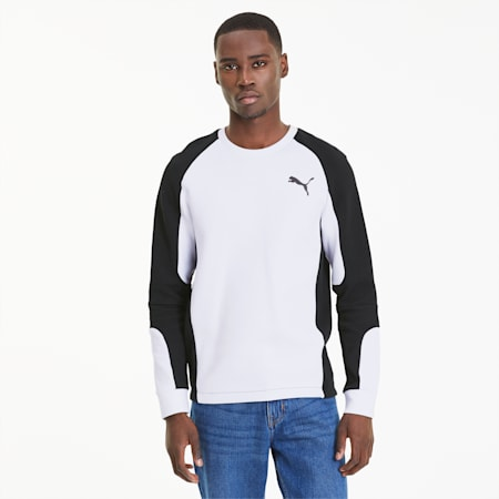 Evostripe Long Sleeve Men's Jersey, Puma White, small