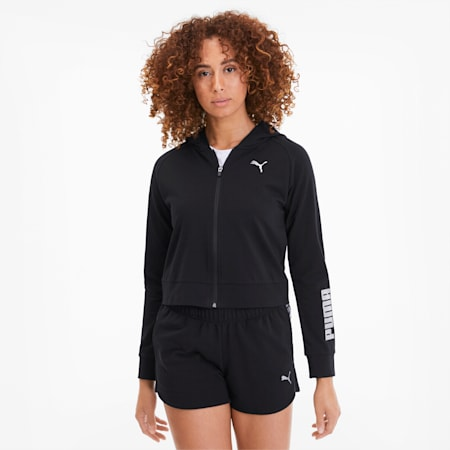 RTG Women's Full Zip Jacket, Puma Black, small