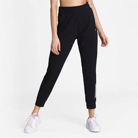 RTG Knitted dryCELL Women's Sweatpants, Puma Black, small-IND