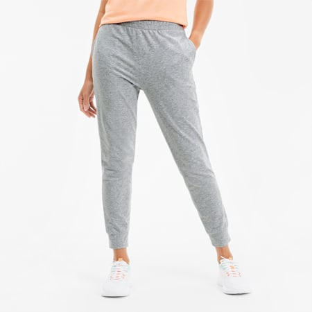 RTG Women's Sweatpants, Light Gray Heather, small