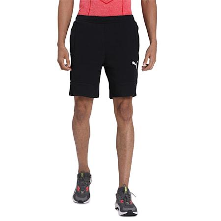 EVOSTRIPE Shorts, Puma Black, small-IND