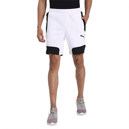 EVOSTRIPE Shorts, Puma White, small-IND