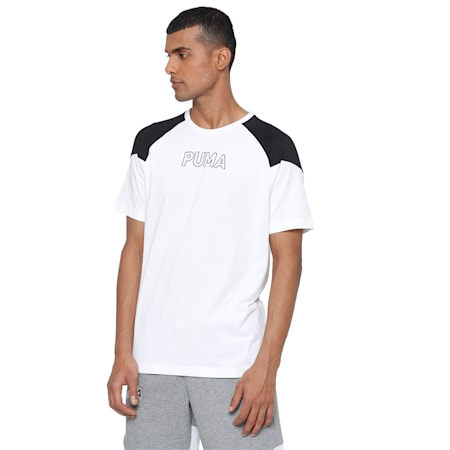 MODERN SPORTS Advanced Tee, Puma White, small-IND
