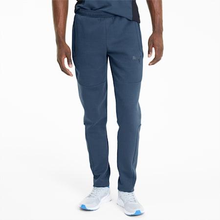 Evostripe Men's Sweatpants, Dark Denim, small