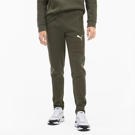 Evostripe Men's Sweatpants, Forest Night, small