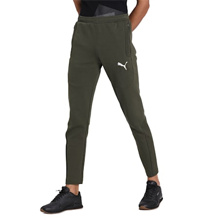 EVOSTRIPE Pants, Forest Night, small-IND