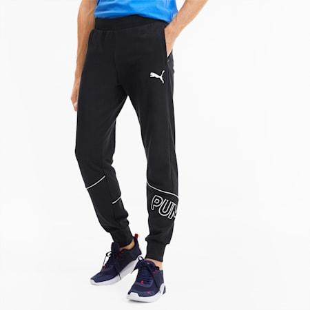 Pantalones deportivos Modern Sports para hombre, Puma Black, pequeño